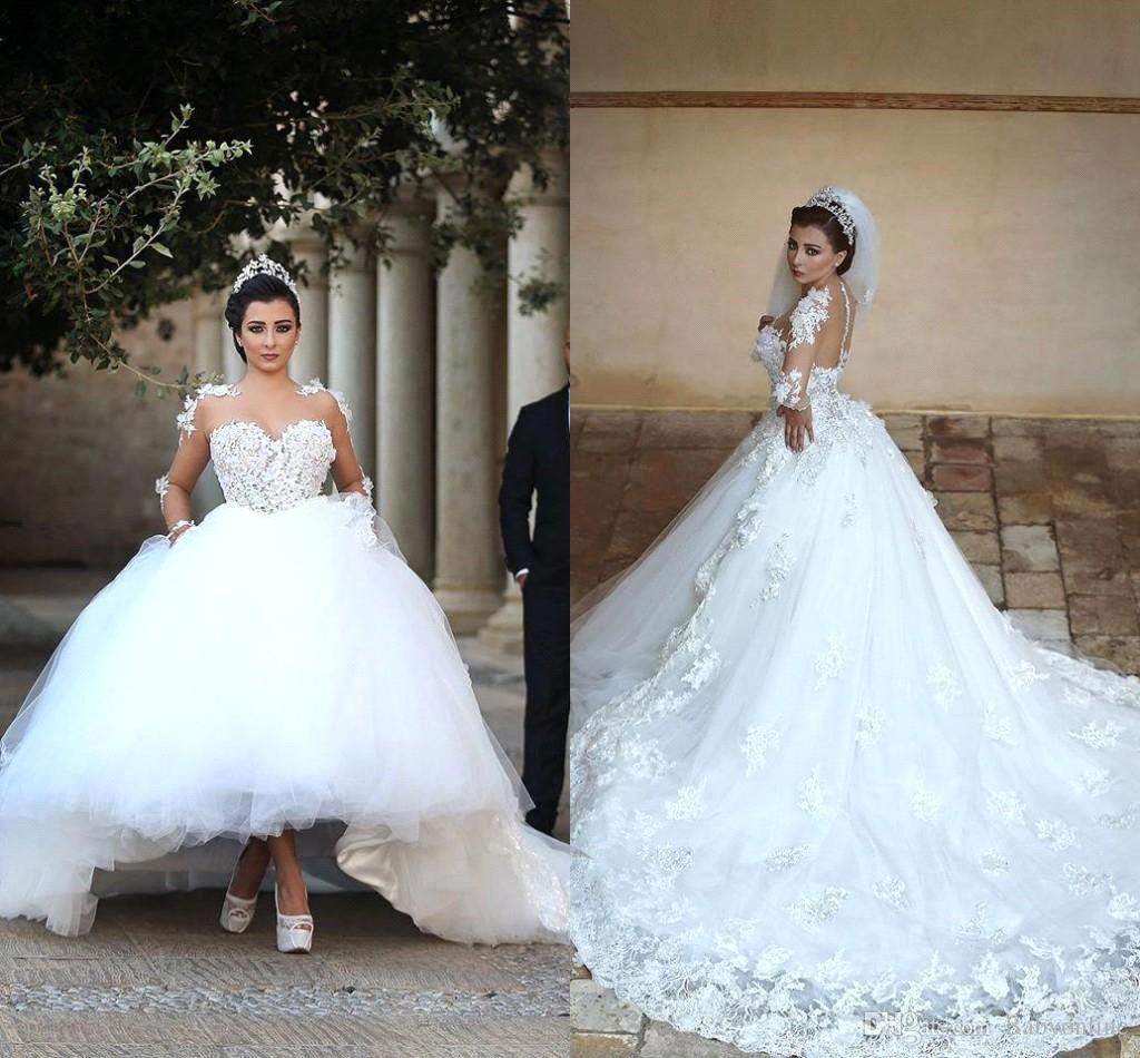 Traditional Wedding Gowns with Sleeves | Dress images