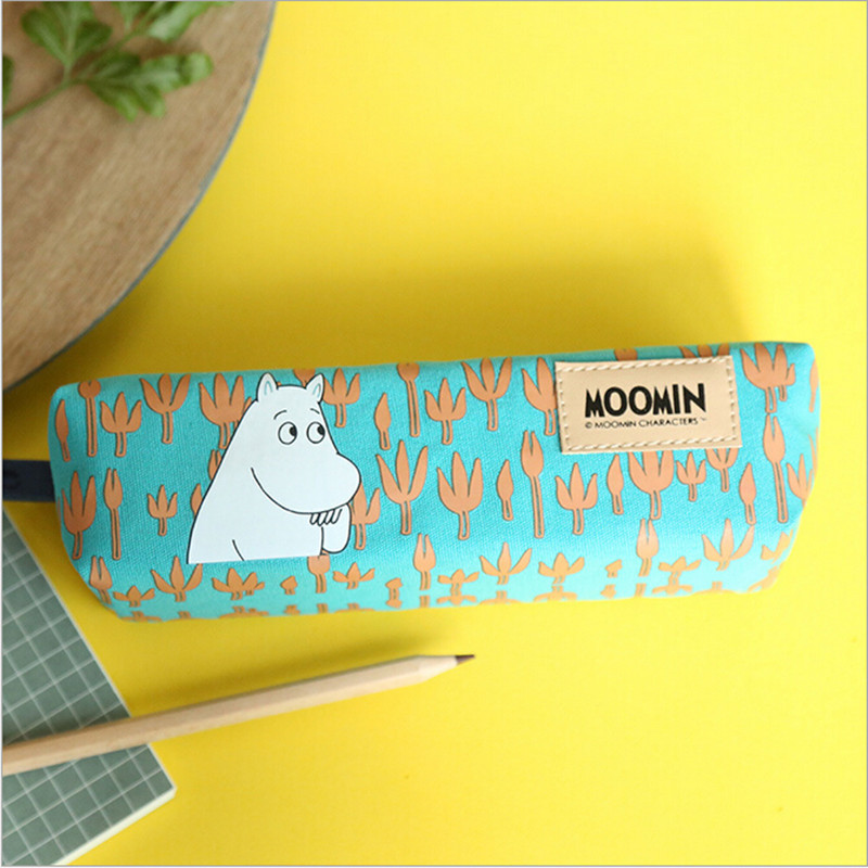 Гаджет  Moomin Muumi pencil pouch 2015 new arrival Schools & Offices Fabric character estuches school pencil pouch None Офисные и Школьные принадлежности