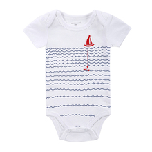 Newborn Baby Girl Clothes 100% Cotton Printed Baby Girl Boy jumpsuit 20 Kinds Styles Baby Romper 0-12 Months Baby Clothing Set(China (Mainland))