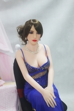 156cm France selling elegant red lip womanl silicone doll for men