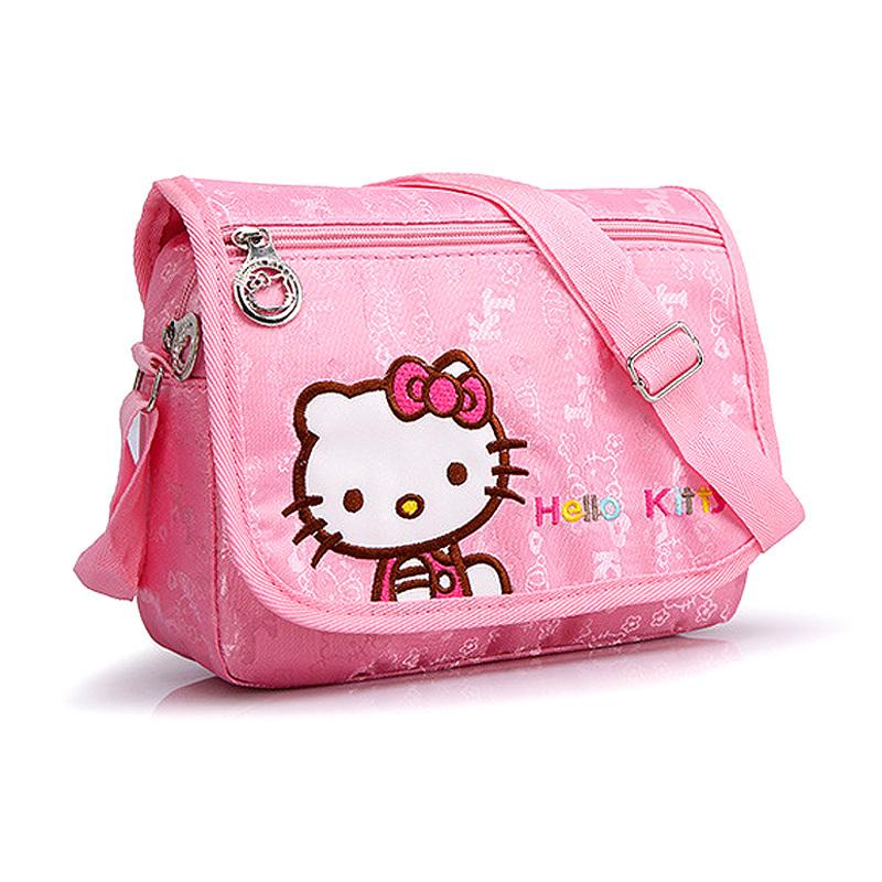 New 2015 Cute hello kitty Children school bags for girls Cartoon kids shoulder bag mochila infantil