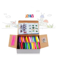 Buy 24pcs 24 coulors DIY Air Dry Clay Play Doh Soft Modeling Clay Fimo Polymer Clay Jumping Foam Plasticine Block Toy Playdough for $11.15 in AliExpress store