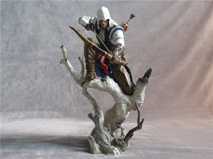 Assassin's Creed 3 Connor The Hunter action figure 8