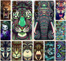 Cool Tiger Lion Wolf Rhinoceros elephant Animal skull PC cell phone Case Bq Aquaris E6 Cases back cover skin shell - Flove me Store store