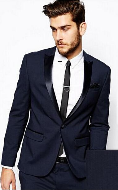 ... Wedding Aliexpress.com : buy midnight blue tuxedo custom made groom