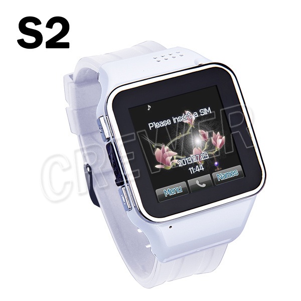 NEW S-2 Watch phone 1.6 inch Water Resistant Java 2.0 Smart Watch Mobile Phone Capacitive screen GPRS Touchscreen Wirst phone(China (Mainland))