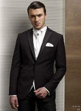 Custom Made 2016 Groom Tuxedo Groomsmen Notch Lapel Wedding/Dinner/Evening Suits Best Man Bridegroom (Jacket+Pants+Tie+Vest) B82