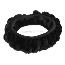 1pcs Premium Soft Short Plush Winter Car Steering Wheel Cover Vehicle Grips Skin