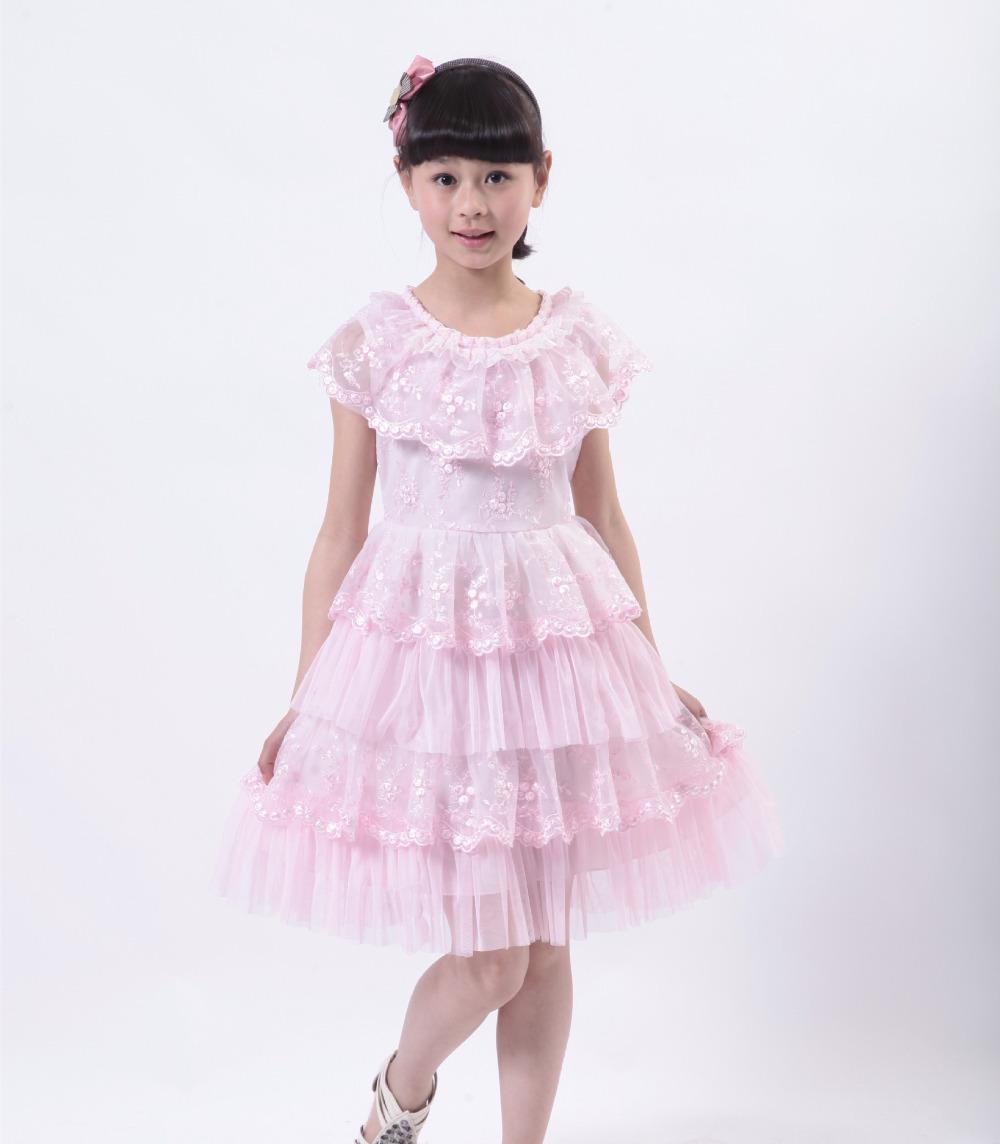 ♥ ♥ طلات راقية ♥ ♥ Free-Shipping-Fashion-Teenage-Girls-Dresses-Girl-Summer-Dress-2015-Teen-Children-Clothing-Party-Clothes-Fit