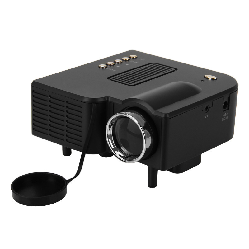 Hot freeshiping 2015 hot mini projector led portable for Portable projector for laptop