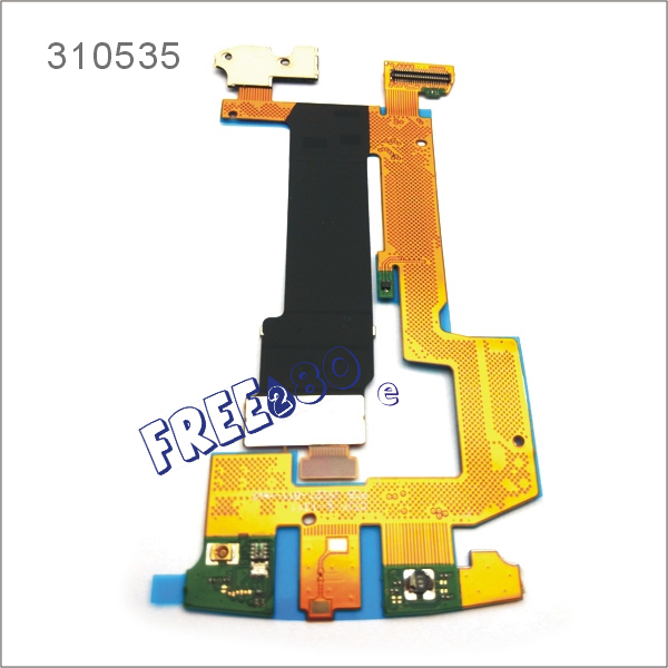 High quality LCD motherboard connector main slide slider flex cable ribbon for BlackBerry Torch 9800(China (Mainland))