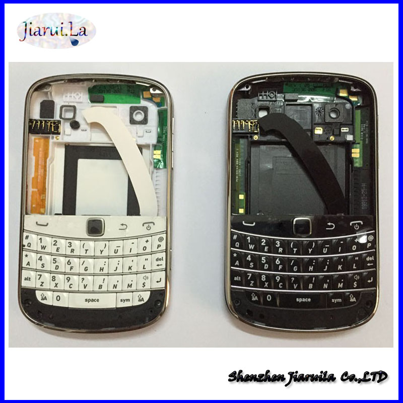 Original complete Full Set Housing + keypad +Battery Door Back Cover Case For Blackberry bold 9900 Housing(China (Mainland))