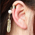 2015 New  Simple punk fashion gold and silver plated stainess axe  stud earring for women  men novelty item bijoux  unicorn