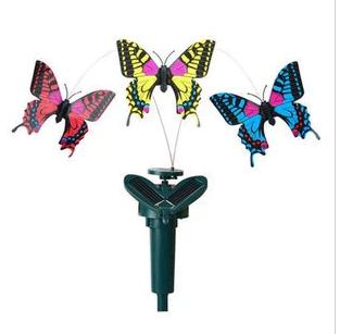 2016 New Children's Toy Creative Solar Simulations Butterfly Toy Assembled DIY Science Experiment Fly Butterfly Educational(China (Mainland))