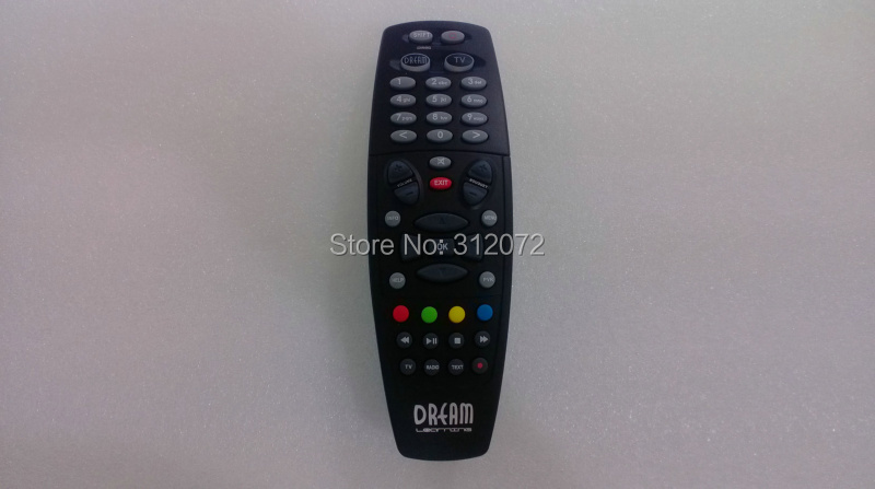 1x Hot sell Black Remote Control for Dreambox 800S 800C 800SE 500S HD Receiver(China (Mainland))