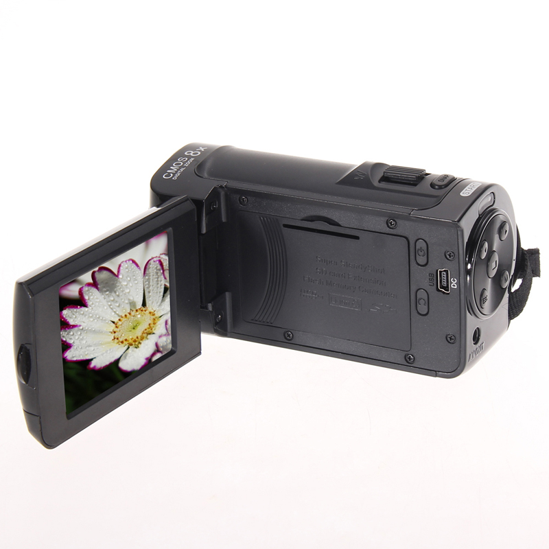 FW1S High Quality HD 1080P 16MP Digital Video Camcorder Camera DV DVR 2.4'' TFT LCD 8x ZOOM(China (Mainland))