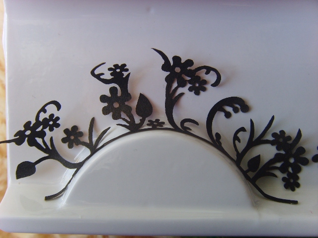Popular bride paper cutting false eyelashes eyelash paper winter jasmine