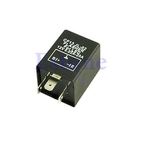 3-контактный 12v электронные светодиодные мигалкой реле исправить мигалкой наглазники поворота
