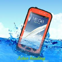Fashion Luxury Waterproof Shockproof Hard Cover Cell Phone Case For Samsung Galaxy Note 2 II N7100 Premium Display(China (Mainland))