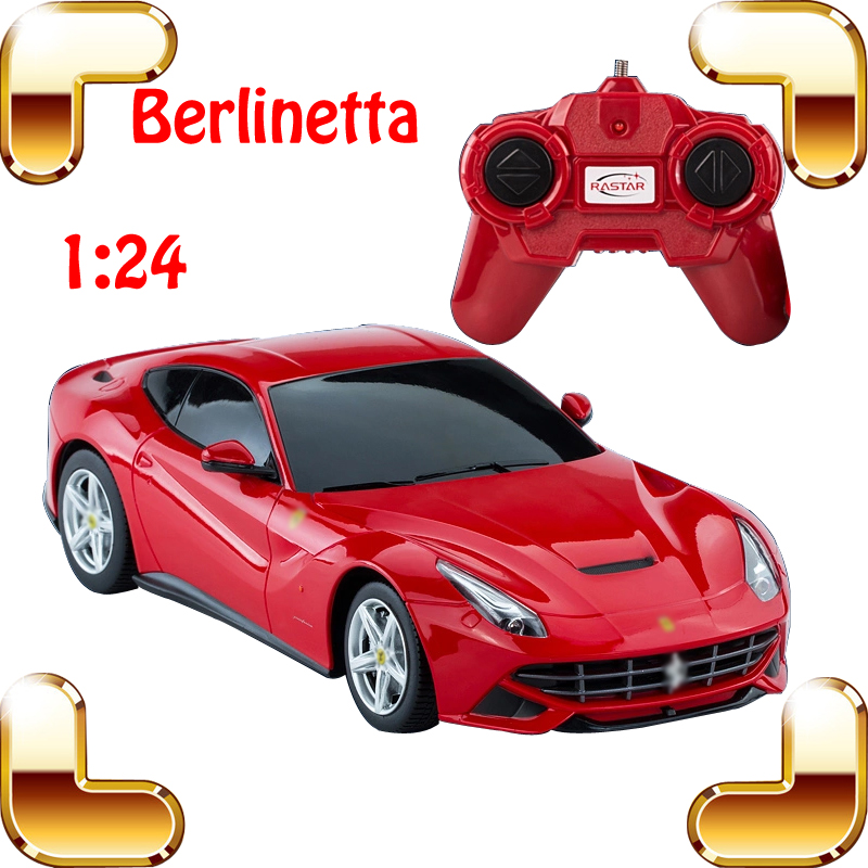 New Year Gift Rastar Berlinetta 1/24 RC Car Flyer Radio Control Roadstar Easy Controller RC Drift Vehicle High Engine Machine(China (Mainland))