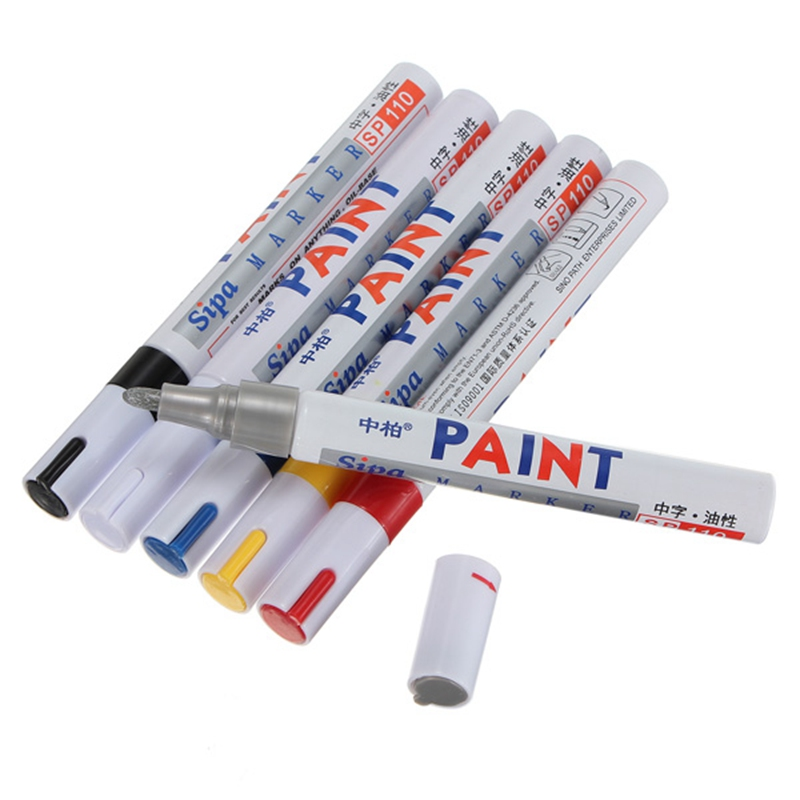 Brand New Colorful Scrawl Car Motorcycle Tire Tyre Tread Marker Paint Pen Tyre DIY Colors Decorate(China (Mainland))