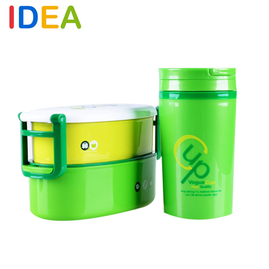 [ IDEA ]^_^2 Layer Japanese Bento Water Cup+ Lunch Box Sushi Container Food Kids Thermos - Feel at home----Home & Garden store