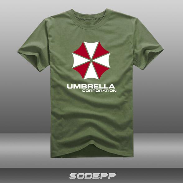 Ree Shipping Biohazard Umbrella Corporation Symbol Short Sleeve T
