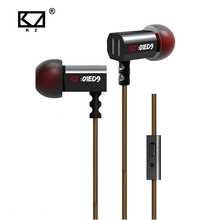 Buy KZ ED9 Super Bass Ear Music Earphone DJ Earphones HIFI Stereo Earbuds Noise Isolating Sport Earphones Mic for $12.50 in AliExpress store