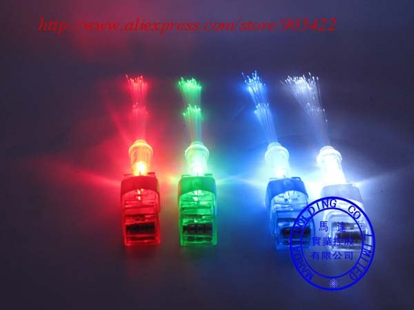 400pcs/lot Wholesale Halloween Gift  with fiber light up led finger HT01F(Hong Kong)