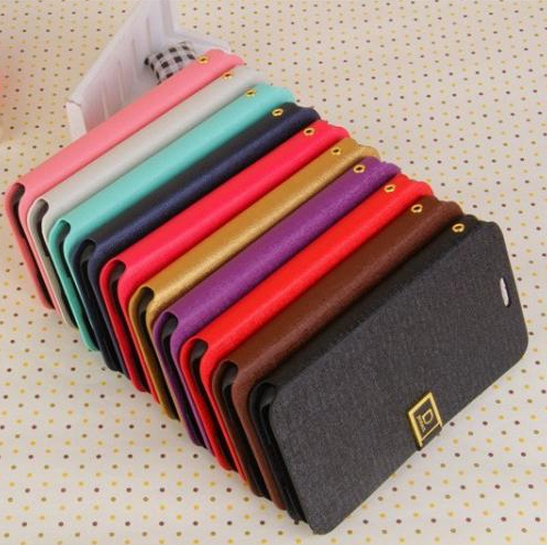 Deluxe D Word Flip Wallet Stand Leather Case Cover With Credit Card Holder Stand For Samsung Galaxy S5 i9600 (SX238)