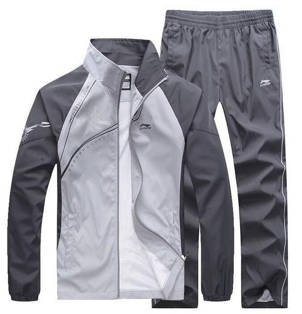 2016 новый бренд костюмы мужская лоскутное спортивной куртки + брюки мужские толстовки и кофты и пиджаки мужские костюмы плюс 5XL наборы