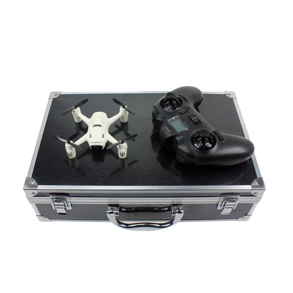 Hubsan X4 CAM Plus H107C+ RC Quadcopter with 720P Camera RTF Aluminum Box Handbag Propeller Guard Spare Parts Set F16766-ABCD