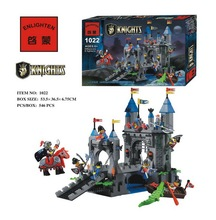 546pcs Ancient Castle Fortress Bunker Ancient Knight Building Block Minifigures Kid Toy Gift Compatible Legoelied Lbk_qm_018