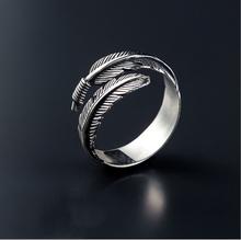 Бесплатная доставка старинные перо стрелка кольца работы для женщин тайский серебро 925 ювелирных украшений анель C254(China (Mainland))