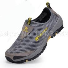 2016 Men Shoes Summer Sapatos Tenis Masculino Casual Outdoor Fahsion Quality Amphibious Shoes Brand Breathable for Mens Shoes(China (Mainland))
