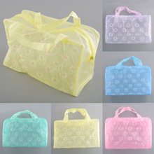 New Waterproof Portable Durable Makeup Bath Cosmetic Toiletry Travel Wash Toothbrush Bag Organizer Multi Color