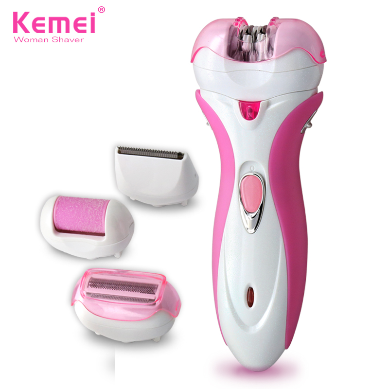 Free Shipping New 4 in 1 Women Shave Wool Device Knife Electric Shaver Wool Epilator Shaving