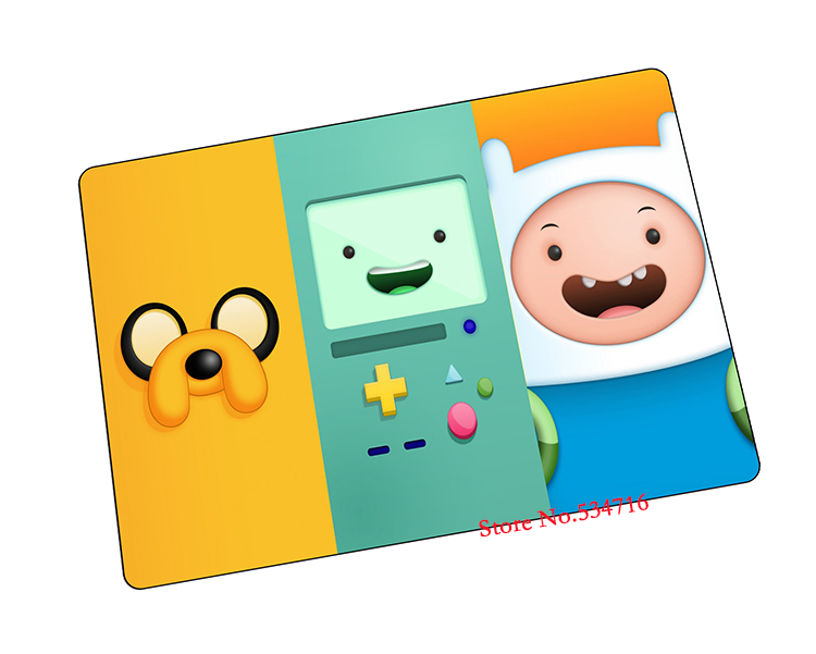 Adventure Time mouse pad gear best seller game pad to mouse notebook computer mouse mat brand gaming mousepad gamer laptop(China (Mainland))