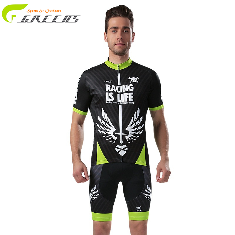 2016 Greens cycling jersey ropa clismo hombre abbigliamento ciclismo mountain bike maillot ciclismo cycling clothing sportsman(China (Mainland))