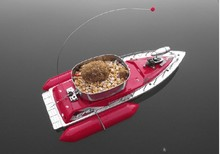 5 7 HOUR FREE SHIPPING T10 mini RC Bait Fishing Boat 200M remote fish finder boat fishing green and red(China (Mainland))