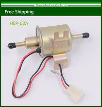 12V Universal Gas Diesel Inline Low Pressure Electric Fuel Pump HEP-02A(China (Mainland))