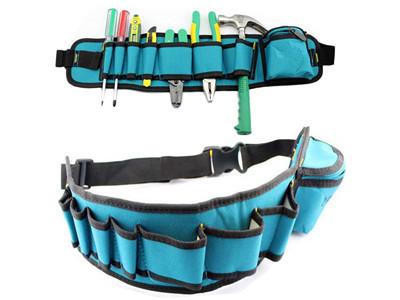Carpenter Waist Rig Hammer Tool Bag w Pockets__.jpg