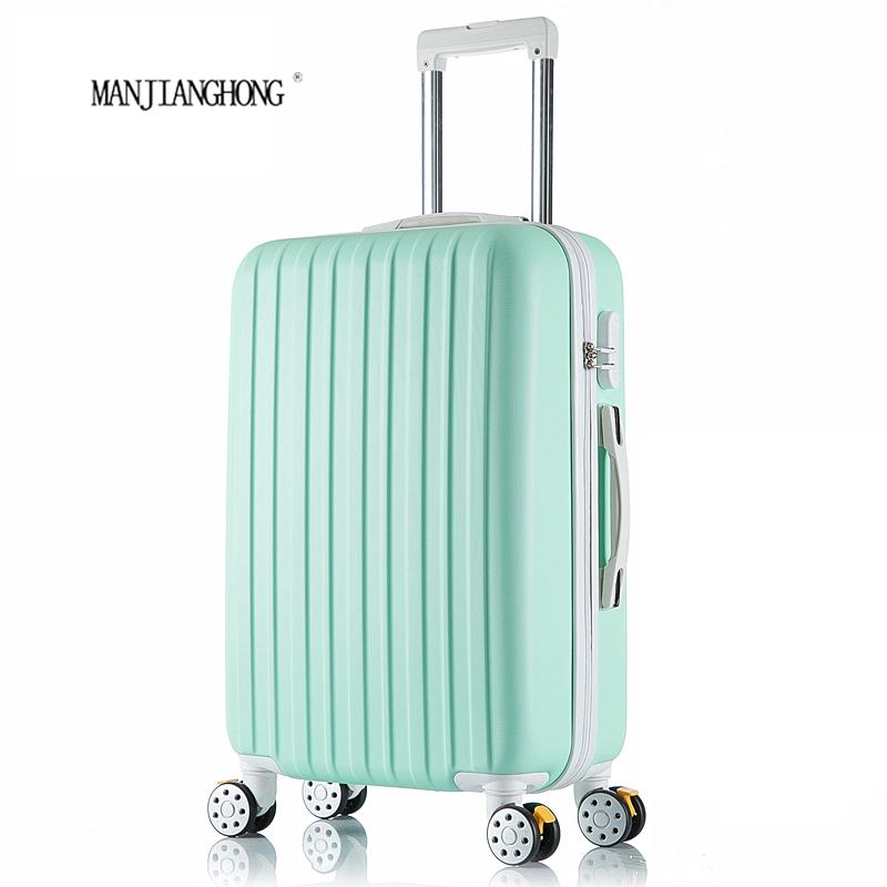 """20 inch New surface like sandpaper stripes trolley suitcase/ 20"""" boarding luggage/10Colors universal wheels trolley candy(China (Mainland))"""