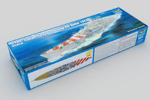 Trumpeter 05777 1/700 Scale Italian Navy Battleship RN Roma 1943 Plastic Model Kit Free Shipping(China (Mainland))