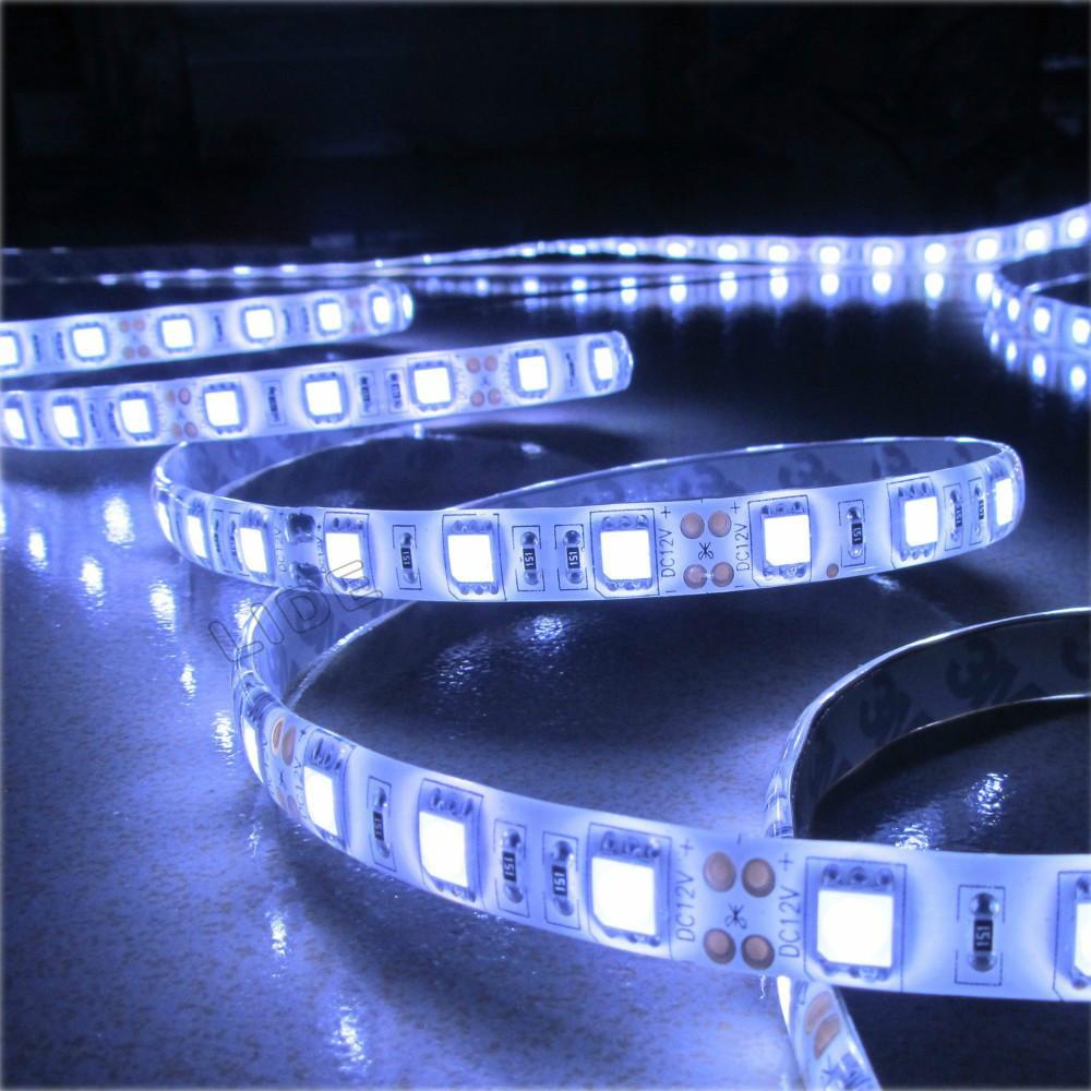 1m 60 LED 5050 waterproof SMD 12V flexible light ,6 color strip white/warm white/blue/green/red/yellow - ShenZhen EY Lighting Co.,Ltd store