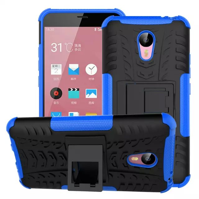 Meizu M2 Note Case High Quality with holder Protective TPU+Hard Back Case Cover for Meizu M2 Note Free Shipping(China (Mainland))