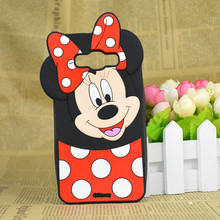 Cute 3D Cartoon Minnie Mickey Mouse Silicone Case Cover Samsung Galaxy J1 Ace Mini J2 J5 J7 (J1 J3 A5 A7)2016 - Christina's No.1 Store store