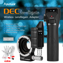 Buy Aputure DEC LensRegain Lens Adapter Wireless Follow Focus Aperture Control Canon EF Lens Micro Four Thirds Mount Camera for $589.00 in AliExpress store