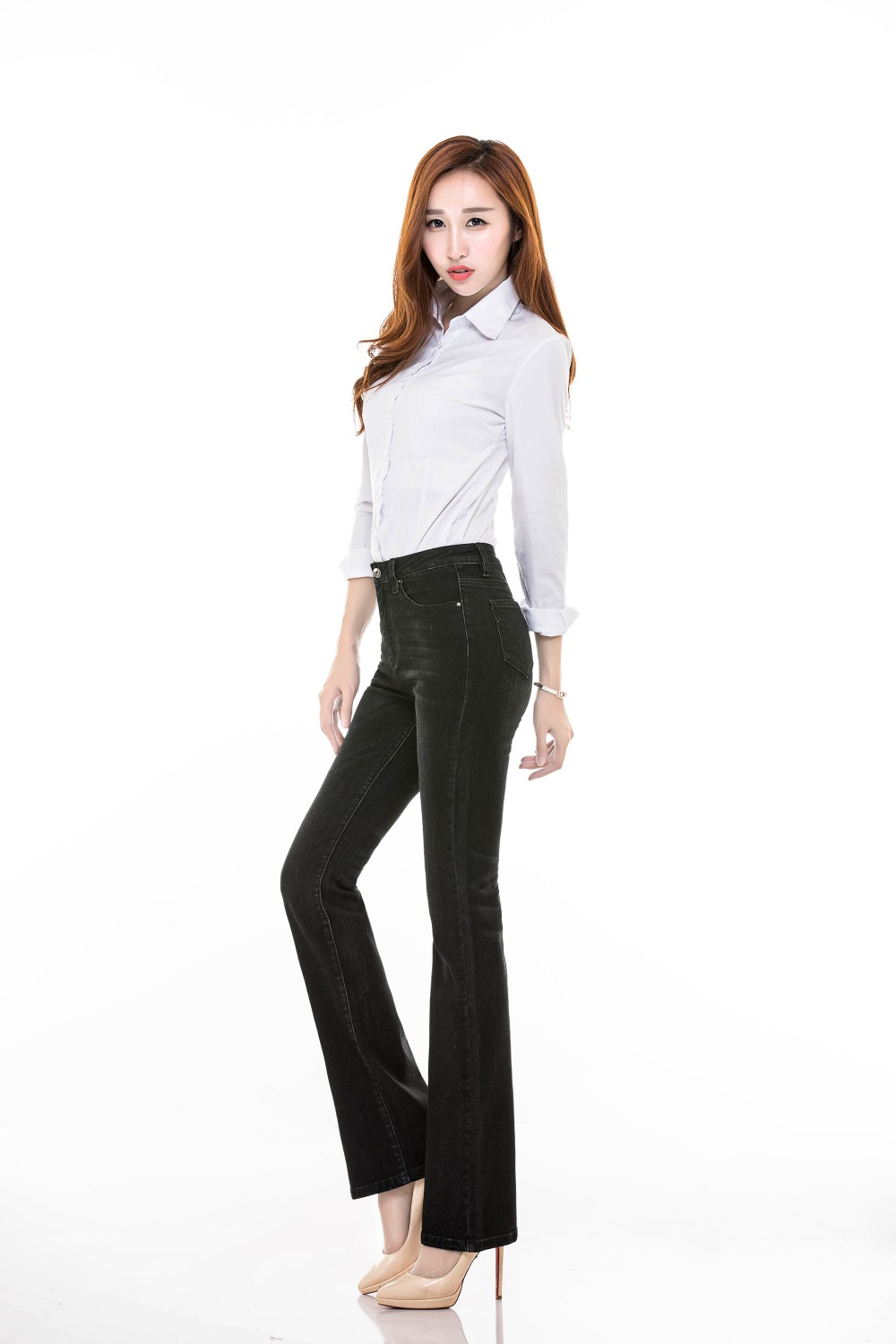 Amazing  Business Casual Pants Women39s Gray SKU11267 On ShopMadeInChinacom