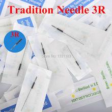 100pcs 3R Permanent Makeup needle cartridge for tattoo machines(China (Mainland))